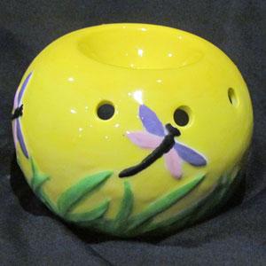 Yellow DragonFly Oil Burner